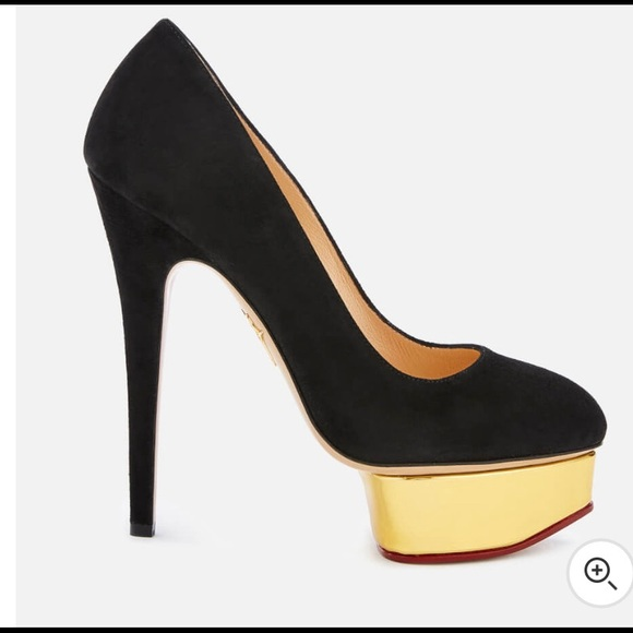 Charlotte Olympia Shoes - Suppppper Brand New black heels!!